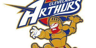 """""""Arthur"""" de """"Ghosts'n Goblins"""" en el logo de Cleveland Cavaliers. Foto:instagram.com/ak47_studios"""