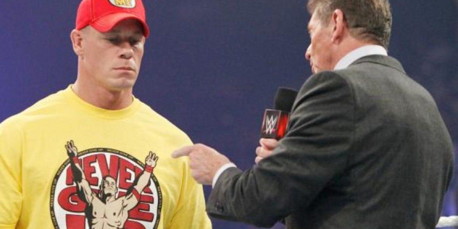 Aún aparece en los shows de la WWE Foto:WWE