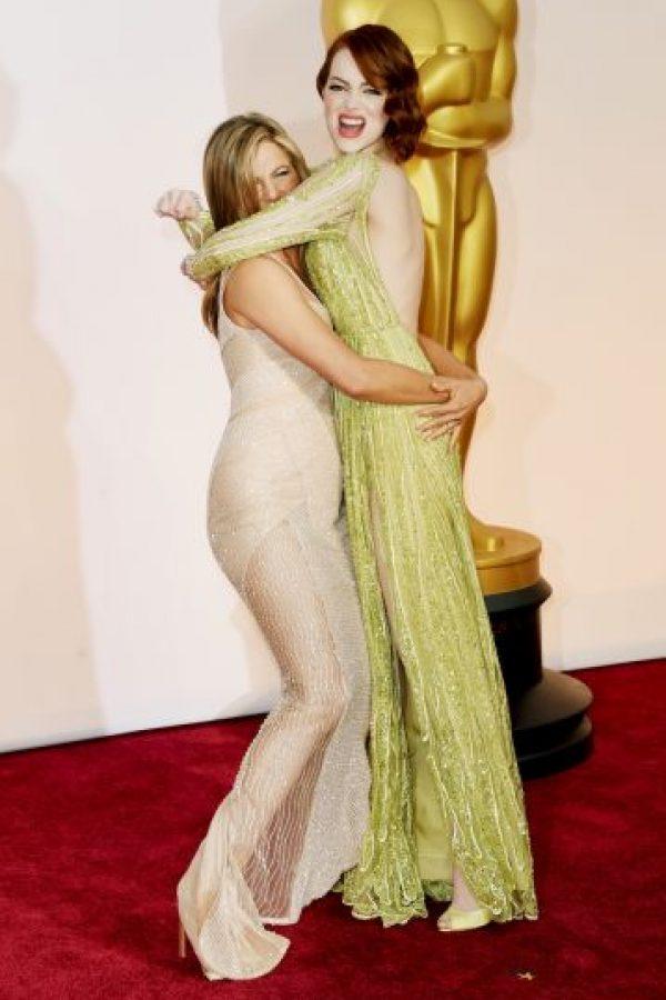 Jennifer Aniston y Emma Stone Foto:Getty Images