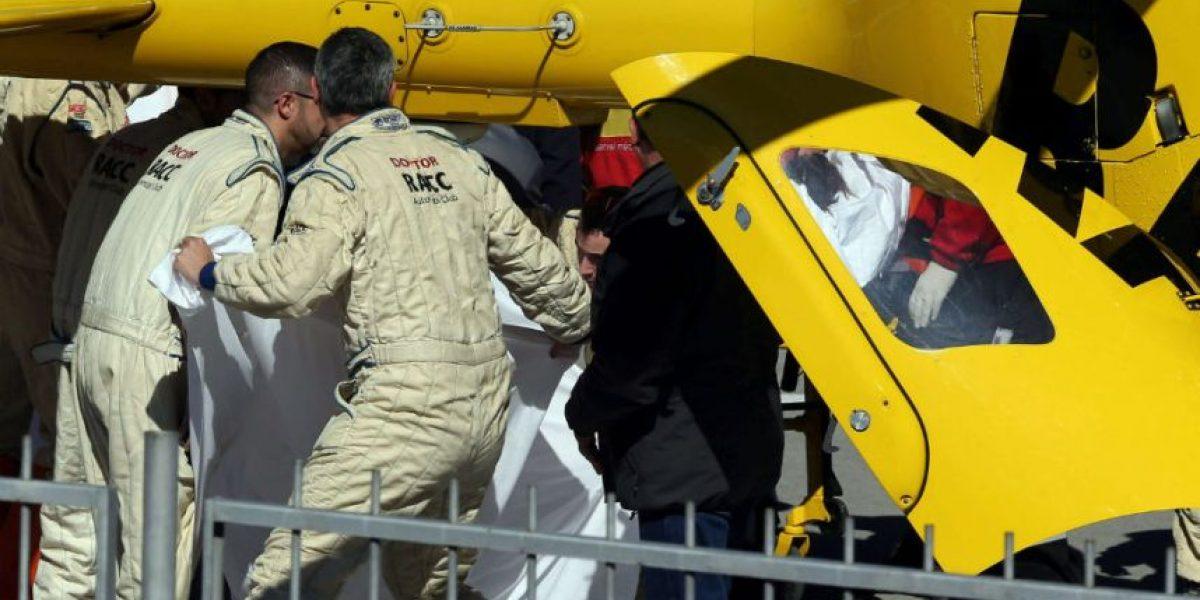 Alonso se estrella y se lleva un susto en el último ensayo de la F1