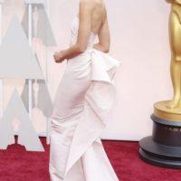 Extraño el sobrio vestido de la modelo checa Karolina Kurkova Foto:Getty Images