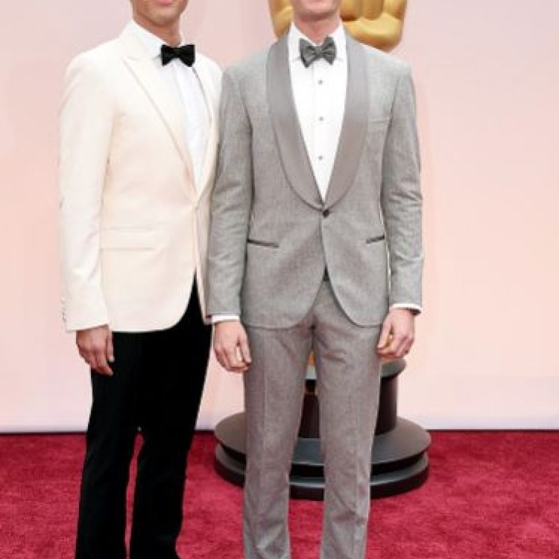 Neil Patrick Harris, innovando con el gris. Foto: Getty Images