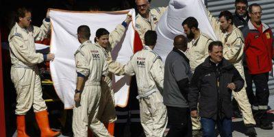 Así luce Fernando Alonso después del accidente