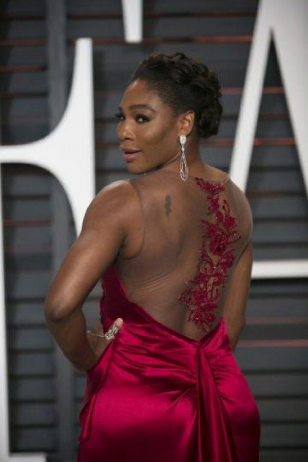 Dejó ver su espalda Foto:AFP