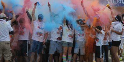 FOTOS. Ellos dieron pasos de color