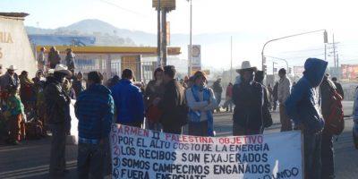 Manifestaciones afectan el tránsito vehicular esta mañana