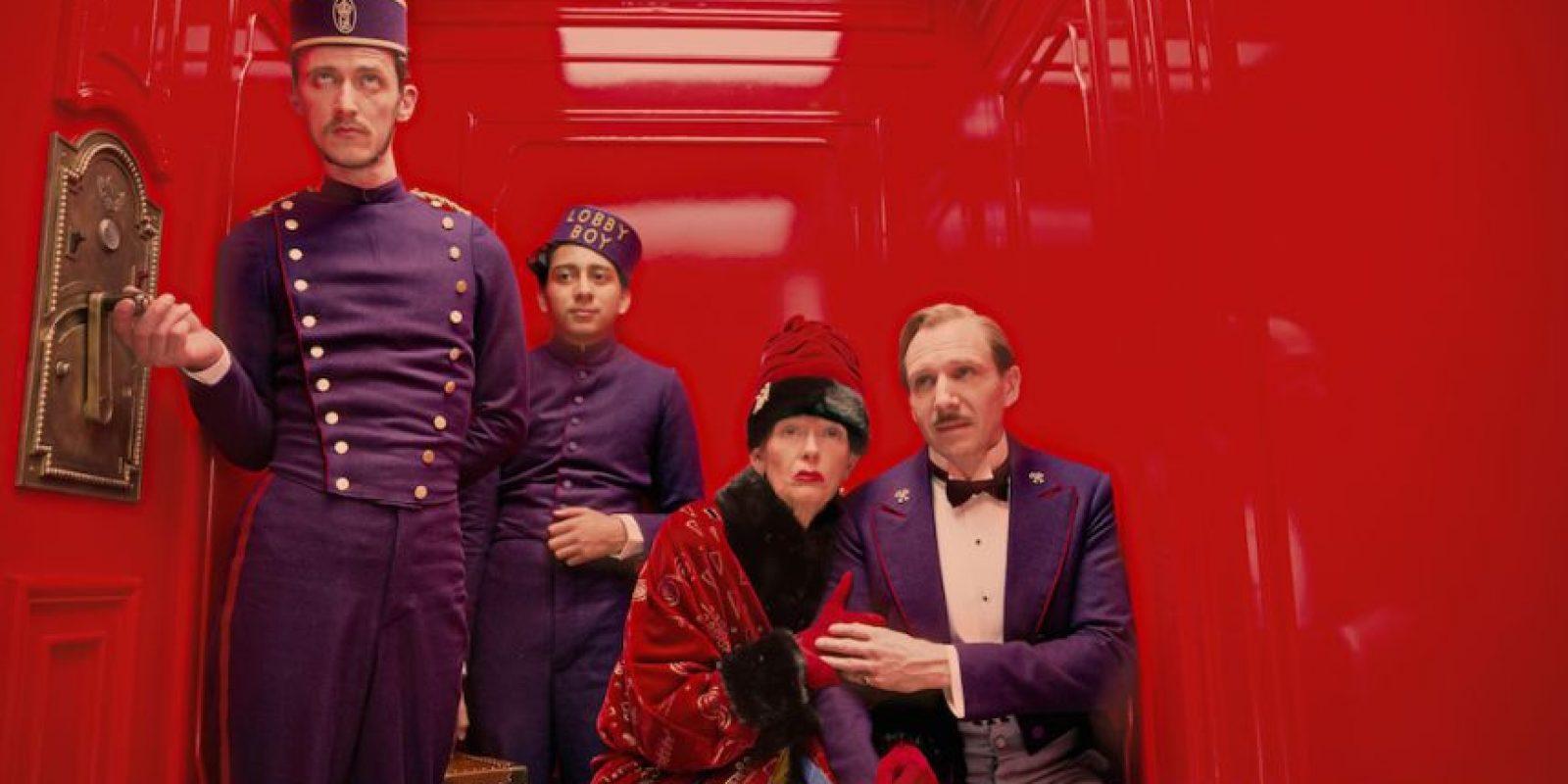 """El Oscar por Producción y diseño fue para """"The Grand Budapest Hotel"""""""