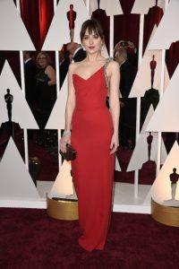 Portó un vestido rojo Foto:Getty Images
