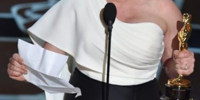 Ganadora del Oscar ocupó su discurso para pedir igualdad para la mujer