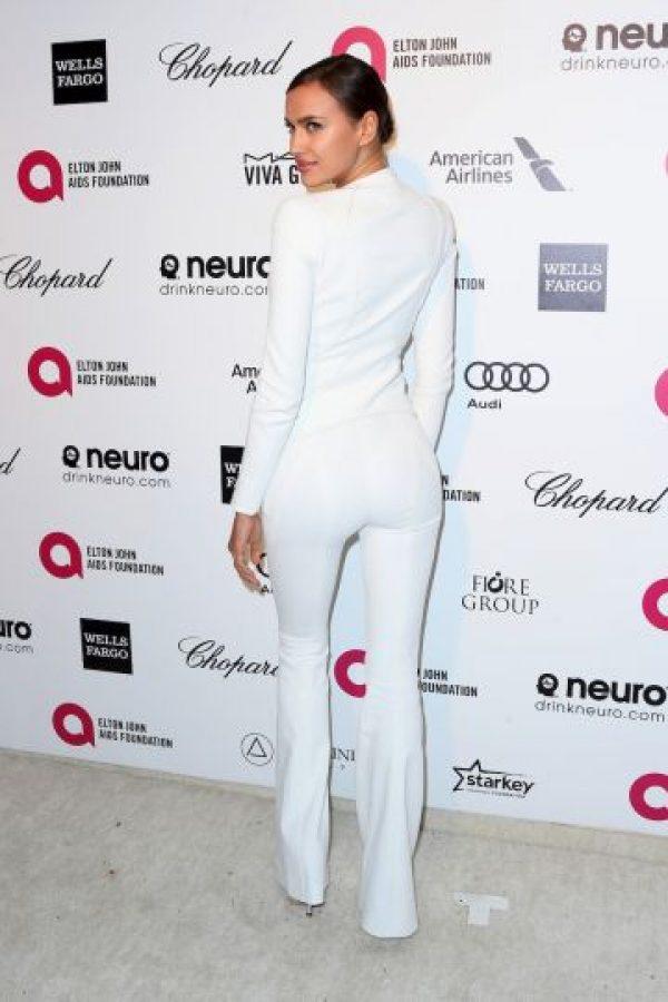 En la fiesta de la fundación del cantante Elton John contra el SIDA Foto:Getty Images
