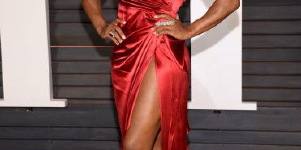FOTOS: Serena Williams impacta con su sexy vestido en los Oscar