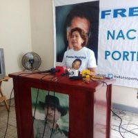 Janeth Pérez Foto:Frente Nacional Portillista