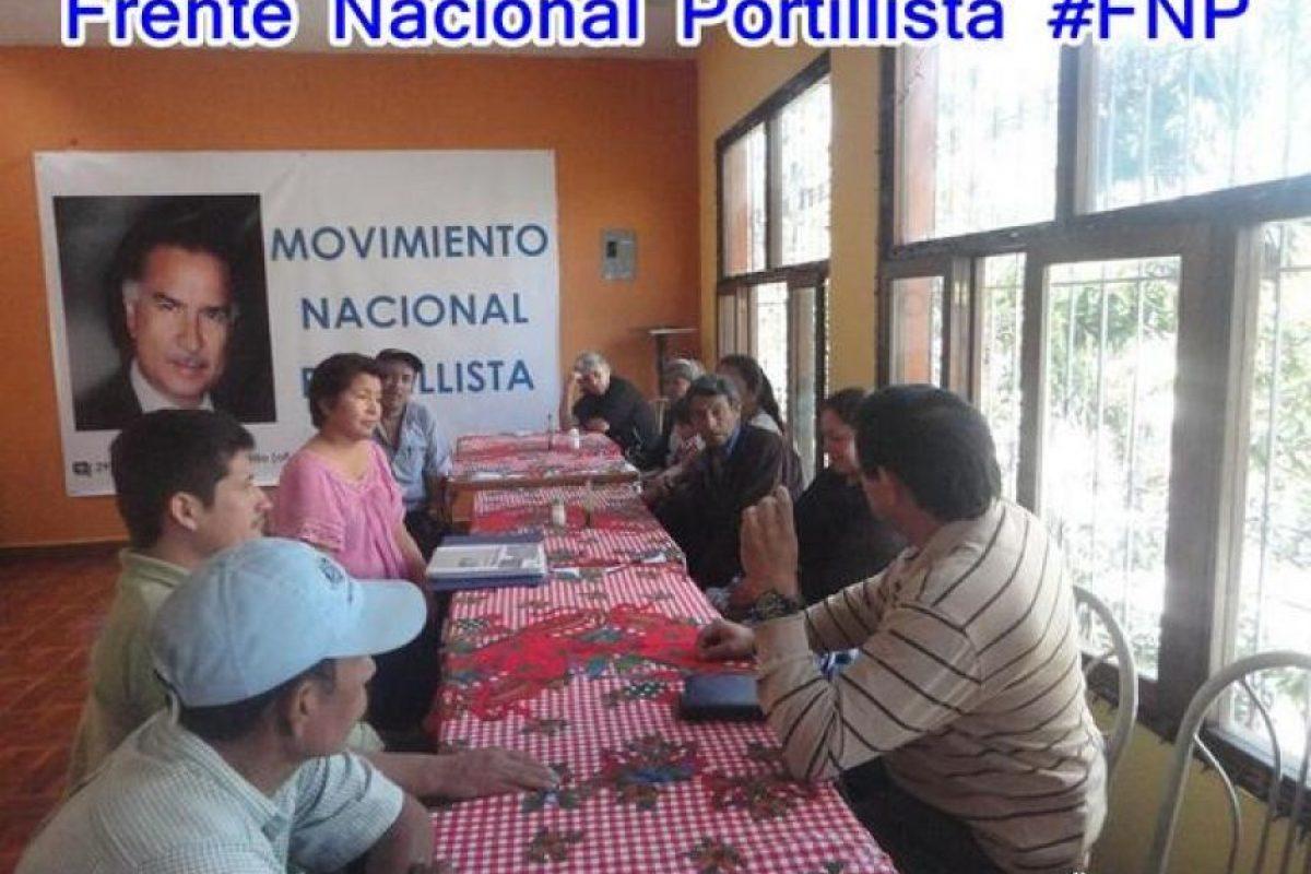 Planifican Foto:Frente Nacional Portillista