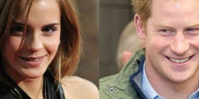 Una revista señalaba que Emma había tenido una cita con el príncipe Harry. Foto:Getty Images