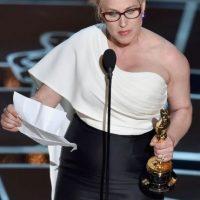 La actriz protestó a favor de la igualdad de género, pues incluso en Hollywood las mujeres no reciben el mismo trato que los hombres Foto:Getty Images