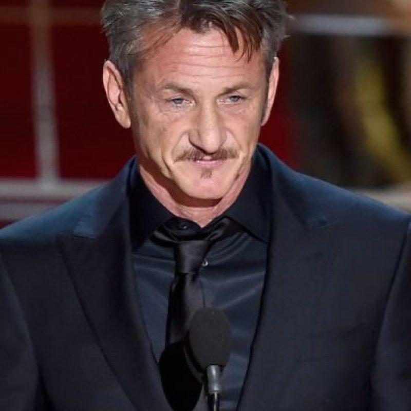 Sean Penn durante la gala de los premios Oscar Foto:Getty Images