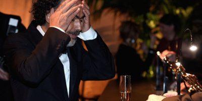 """En la sala de prensa, Iñárritu confesó: """"Sean y yo tenemos este tipo de amistad brutal"""" Foto:Getty Images"""