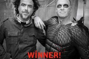 """""""Tal vez el año que viene el Gobierno tendría que imponer algunas normas migratorias a la Academia"""", bromeó González Iñárritu. Foto:Facebook/Birdman"""