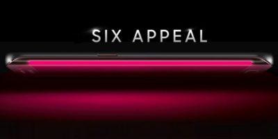 La pantalla del Samsung iluminada en rojo. Foto:T-Mobile
