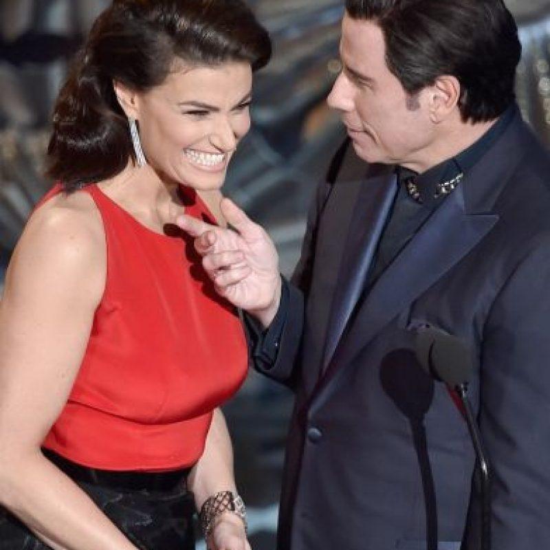 Como una especie de venganza, este año, Menzel presentó a Travolta con otro nombre Foto:Getty Images