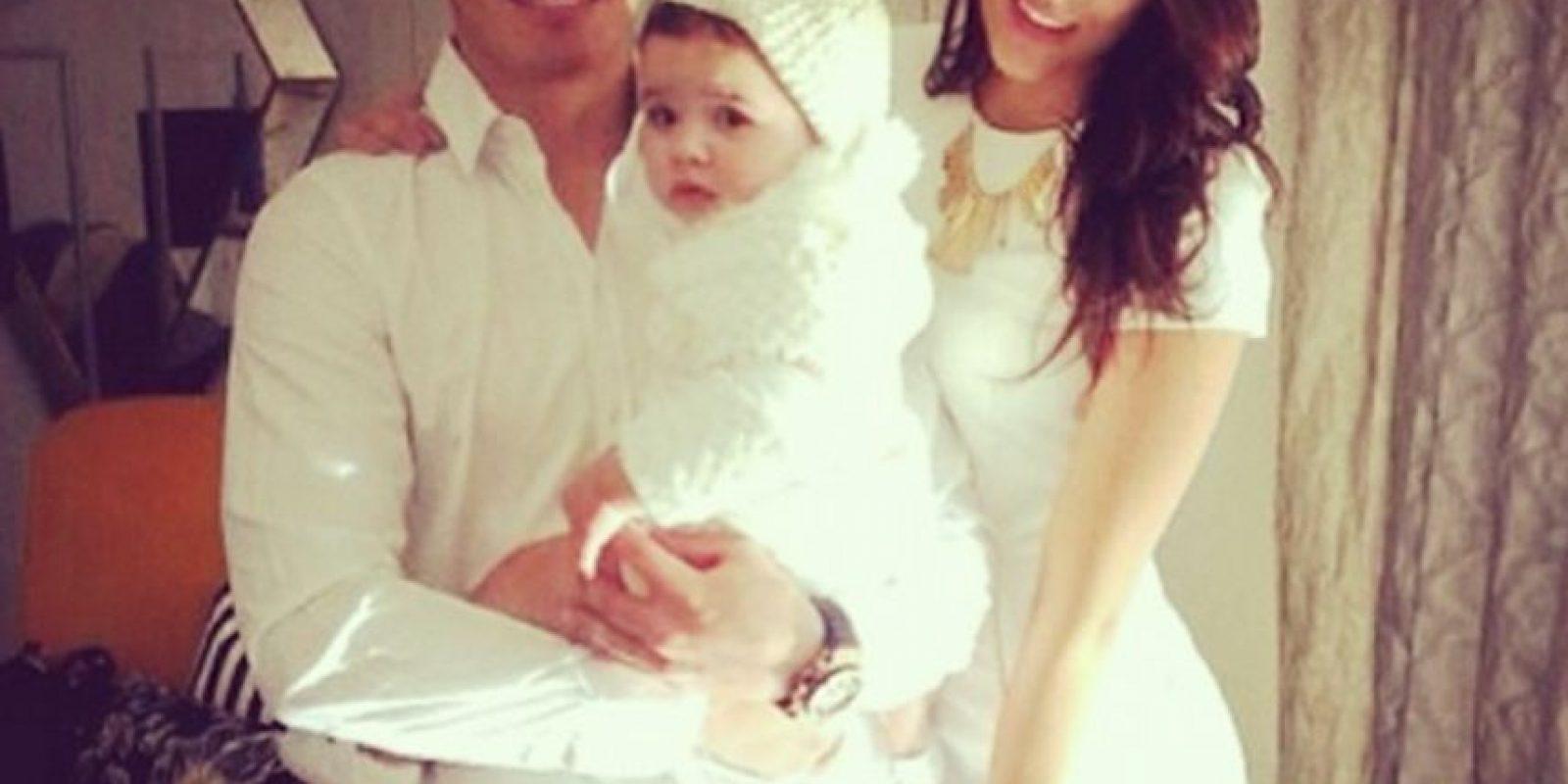 El colombiano del Real Madrid suele postear imágenes junto a su esposa Daniela Ospina y su hija Salomé Foto:Instagram: @jamesrodriguez10