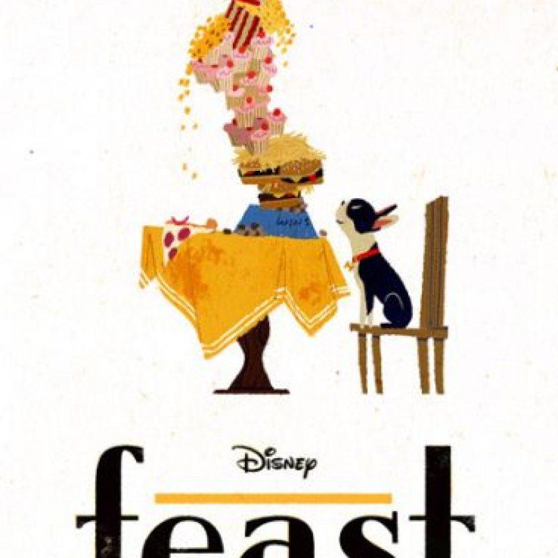 """Disney se hizo presente y """"Feast"""" ganó el Oscar a Mejor cortometraje animado"""