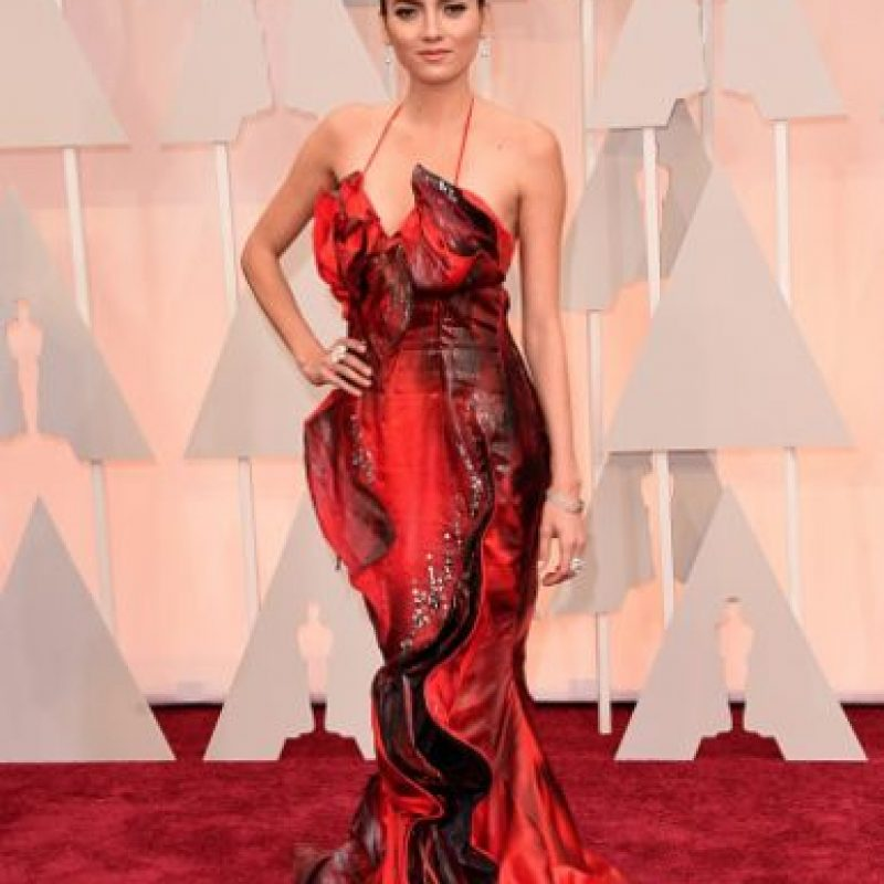 Blanca Blanco, un desastre de estilo con su vestido ultradramático Foto:Getty Images
