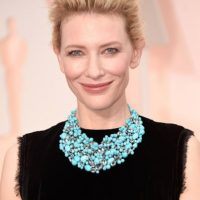 Cate Blanchett, de Armani. Foto: Getty Images
