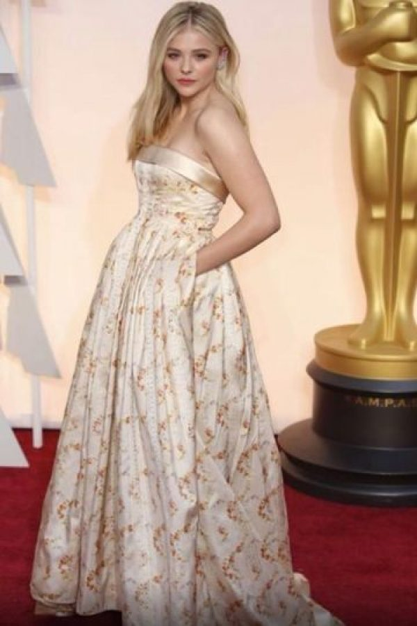 Chloe Moretz, bastante desaliñada. Foto:Getty Images