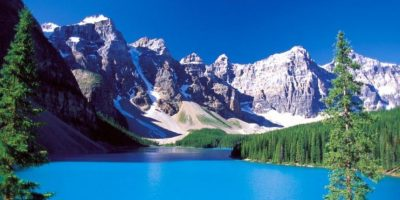 Un tour por las montañas de Canadá. Foto:Pinterest