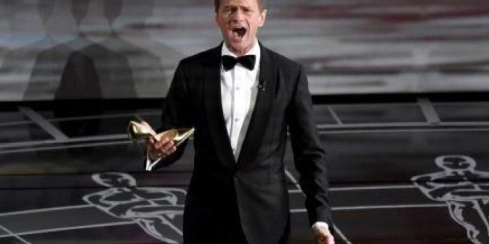"""Todo iba mal para Neil Patrick Harris. Muchos criticaron su """"aburrida"""" presentación en los Oscars Foto:Getty Images"""
