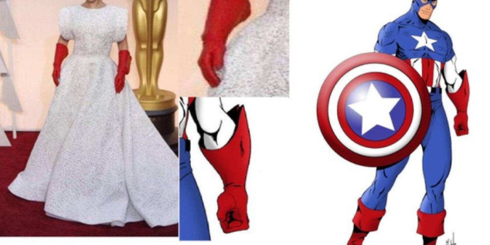 ¿Quién luce mejor los guantes? Foto:Twitter