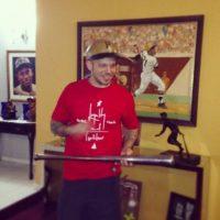 """En los Grammy Latino 2011, """"Calle 13"""" obtuvo el premio a """"Canción del Año"""". Al recibir el premio, expresó su apoyo a la lucha por la educación y dijo: """"Quiero dedicar este premio a lucha estudiantil que se lleva en Latinoamérica"""" Foto:Instagram René Pérez"""