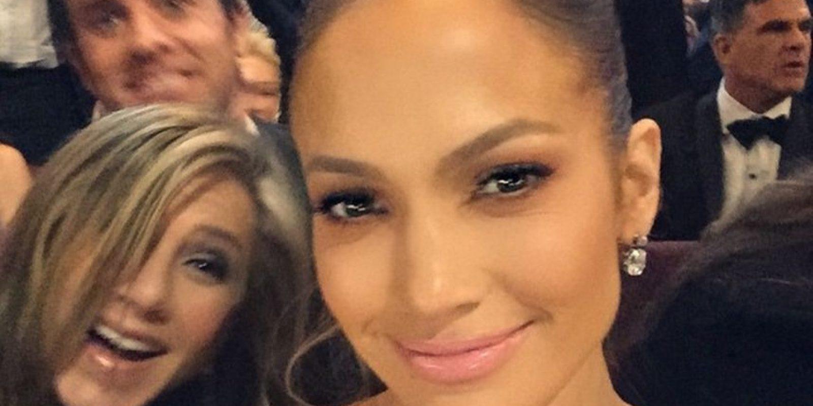 Jennifer Lopez, Jennifer Aniston y Justin Theroux Foto:Instagram