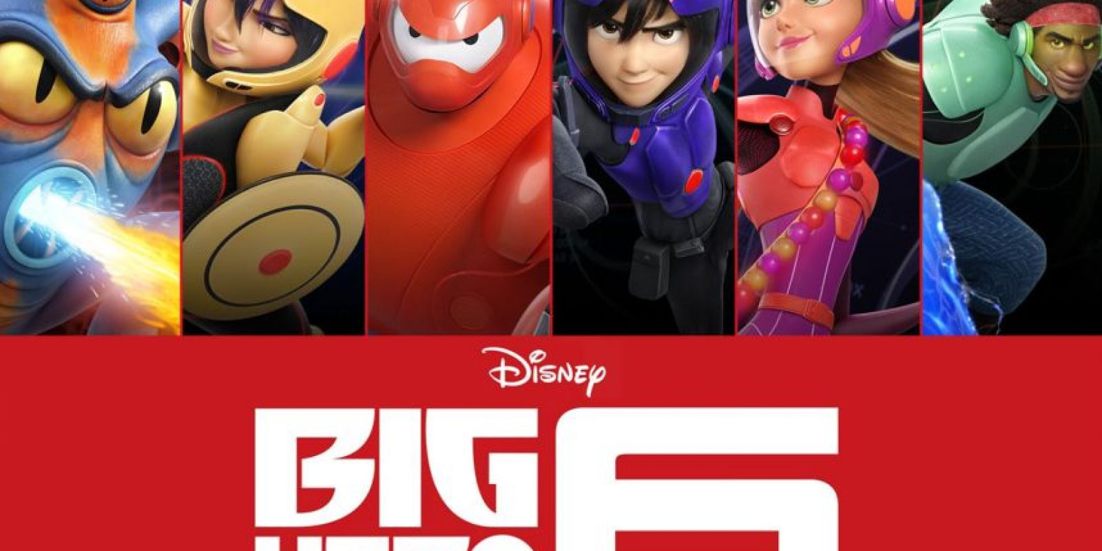 """El Oscar para la Mejor película animada fue para """"Big Hero 6"""", también de Disney"""