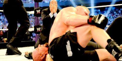 Perdió con Brock Lesnar Foto:WWE