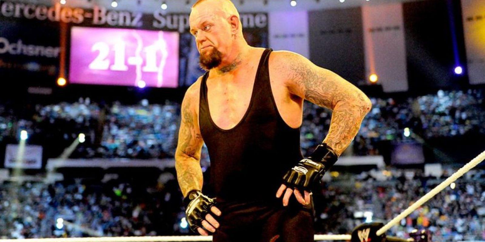 """""""El Enterrador"""" no ha aparecido desde que perdió en Wrestlemania XXX con Brock Lesnar Foto:WWE"""
