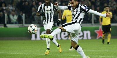 El cuadro de Turín se llevó la ventaja al juego de vuelta de la serie. Foto:AFP