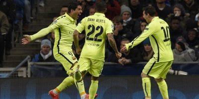 El Barcelona consiguió en Manchester una victoria clave 2-1 contra el City. Foto:AFP