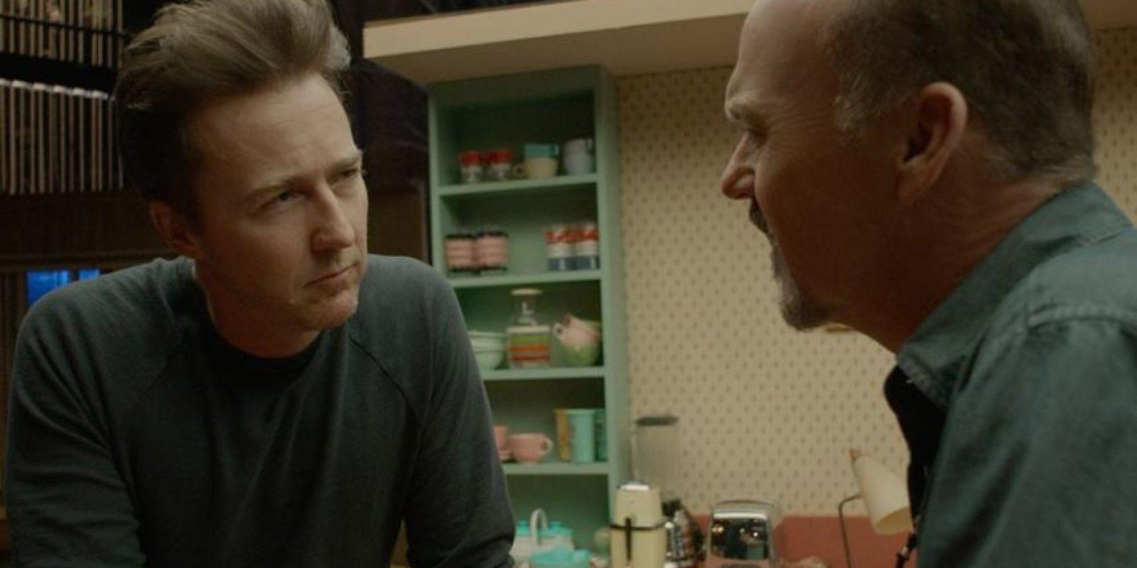 """Edward Norton y Michael Keaton iniciaron un """"conteo de errores"""" por actor. Foto:Facebook/Birdman"""