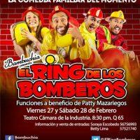 En esta ocasión, las funciones serán a beneficio de Patty Mazariedos Foto:El Ring de los Bomberos