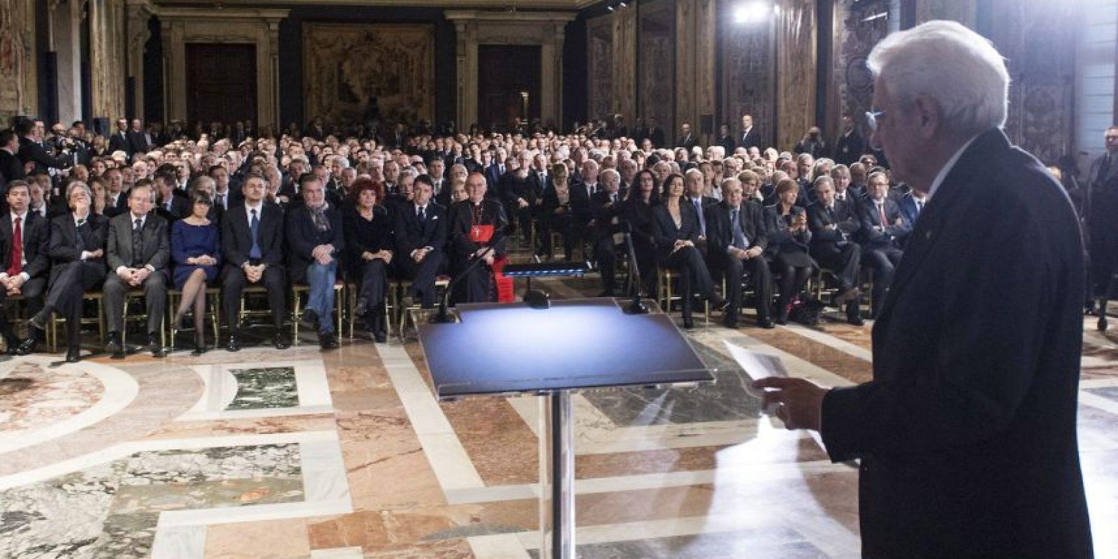 Ahora tiene la tarea de sacar a flote la economía italiana. Foto:Getty Images