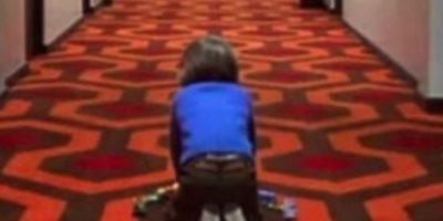 """La alfombra que viste los pasillos del teatro es la misma que se usó en el hotel de la famosa cinta """"El resplandor"""". Foto:Twitter"""