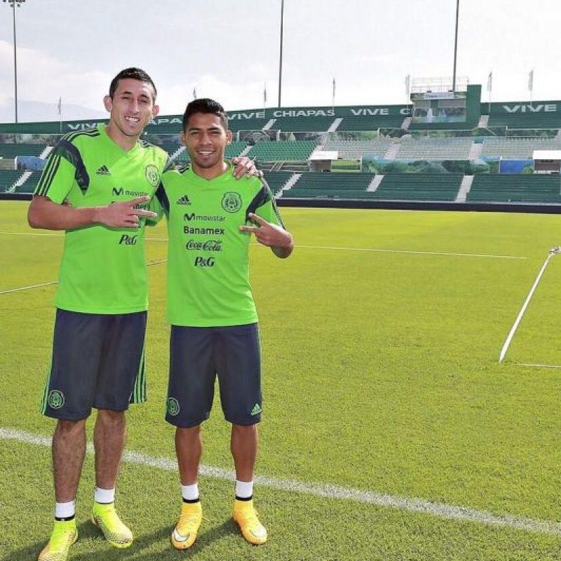 Fue el último que llegó al barco de la Selección mexcicana por la baja por lesión de Luis Montes Foto:Instagram: @javieraquino7