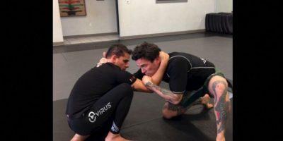 Frank es un actor y luchador de artes marciales mixtas. Actualmente promueve el personaje del Power Ranger verde en diversas convenciones Foto:Instagram/Jason David Frank