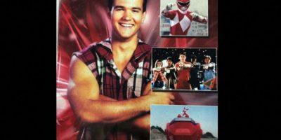 Interpretó a Jason Lee Scott, el primer Power Ranger rojo de la historia. Foto:Facebook/Austin ST John