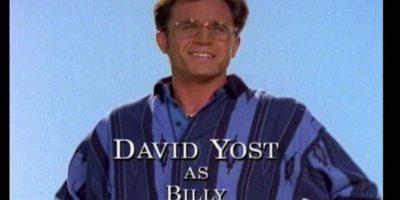 Interpretó a Billy Cranston, el Power Ranger azul Foto:Twitter/David Yost