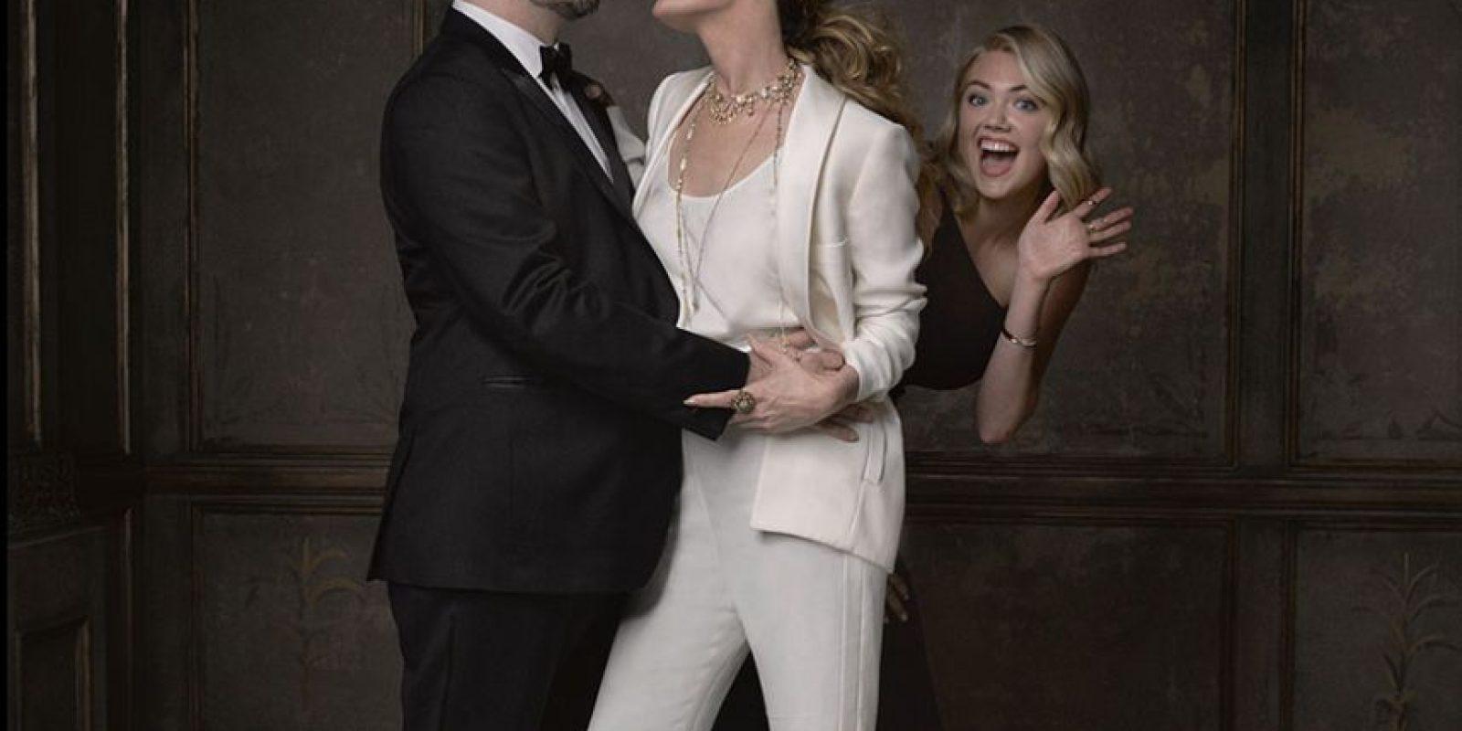 Judd Apatow, Leslie Mann y Kate Upton Foto:Agencias
