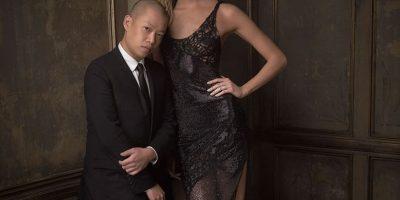 Jason Wu y Karlie Kloss Foto:Agencias