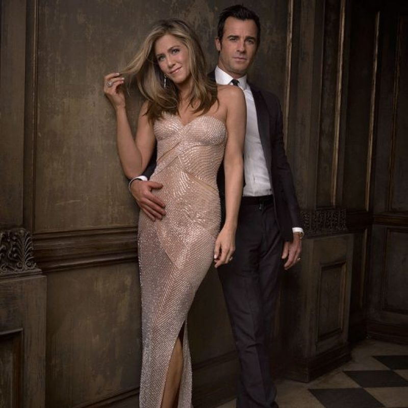 Jennifer Aniston y Justin Theroux Foto:Agencias